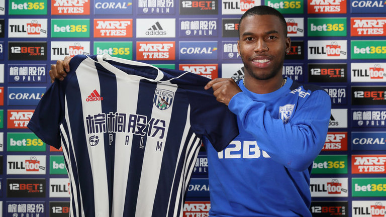 Daniel Sturridge Joins West Brom
