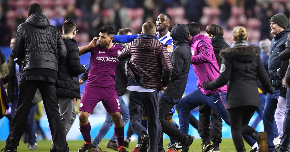 Dramatic Scenes Unfold As Man City Are Dumped Out of The FA Cup