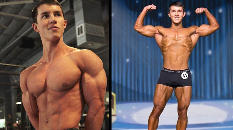 Meet The 17 Year Old Bodybuilder Nicknamed 'Mr Muscles'
