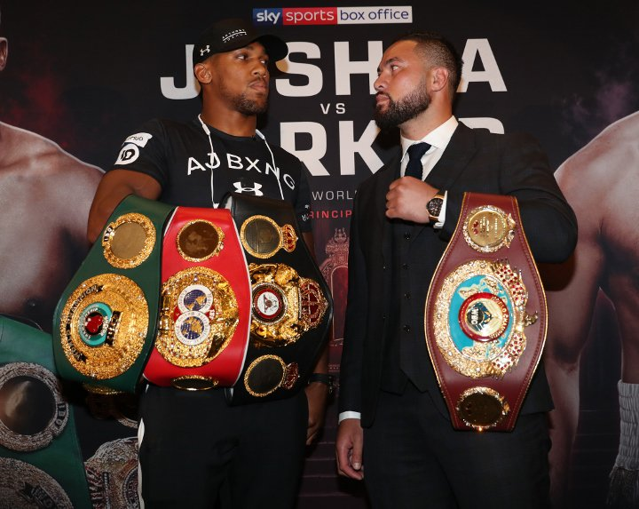 Anthony Joshua Says He Will 'KO' Parker