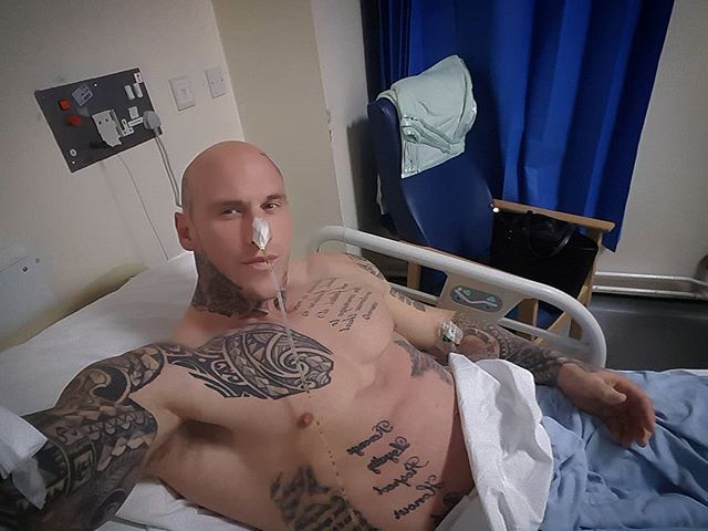 Bodybuilder Martyn Ford Recovering In Hospital