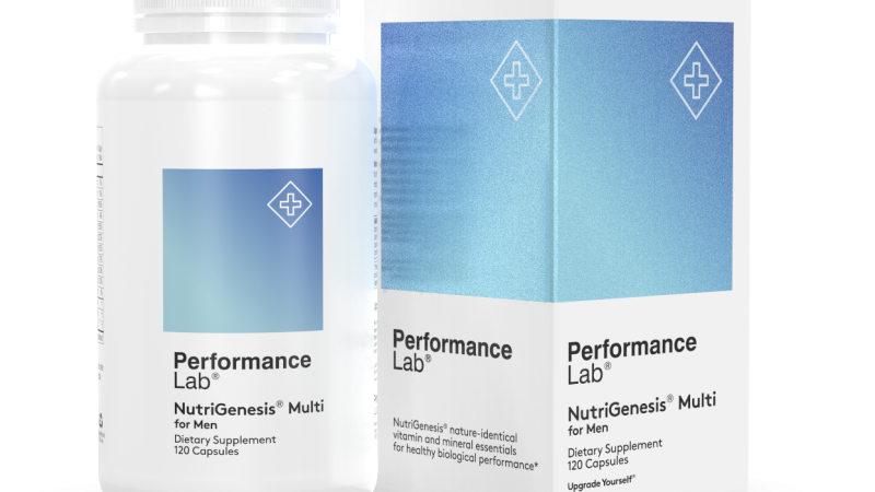 Performance Lab NutriGenesis Multi for Men Review 2020