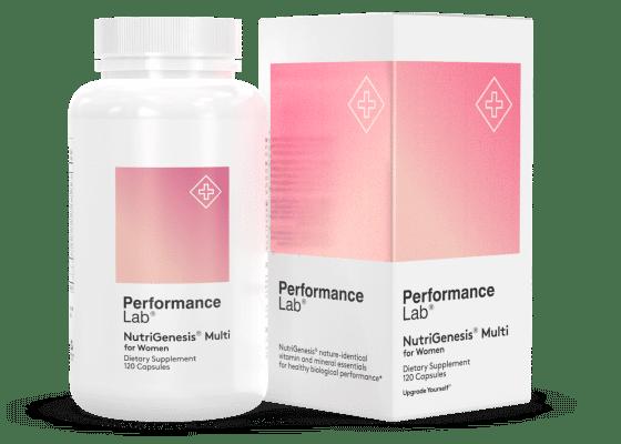 Performance Lab NutriGenesis Multi for Women Review 2020